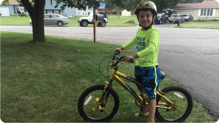 Joey-bike-ride